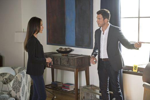 Stalker - Ein neuer Fall beschäftigt Beth (Maggie Q, l.) und Jack (Dylan McDe...