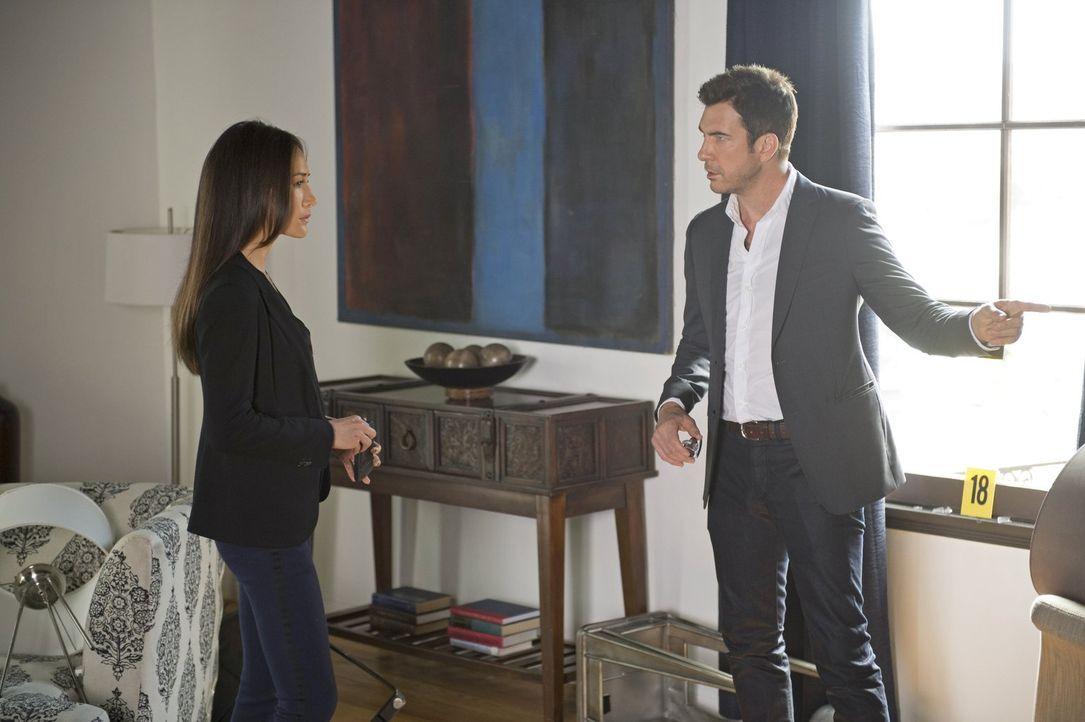 Ein neuer Fall beschäftigt Beth (Maggie Q, l.) und Jack (Dylan McDermott, r.) ... - Bildquelle: Warner Bros. Entertainment, Inc.