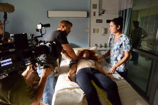Under The Dome - Behind The Scenes - Bild vom Set der Serie1 - Bildquelle: CB...