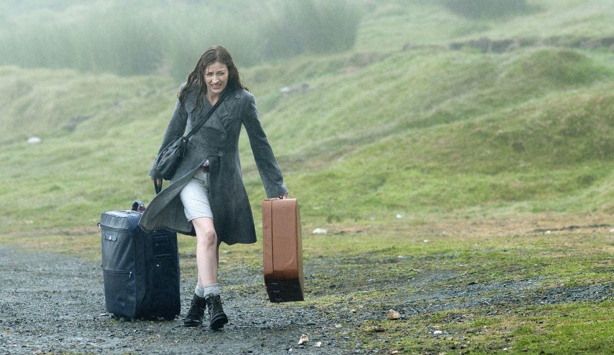 Nach einer geplatzten Hochzeit zieht sich die enttäuschte Katie (Kelly Macdonald) zurück auf die kleine schottische Insel Hegg. Doch ausgerechnet do... - Bildquelle: Tiberius Film GmbH