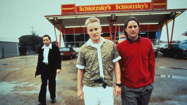 Bob (Robert Musgrave, l.), Dignan (Owen C. Wilson, M.) und Anthony (Luke Wils...