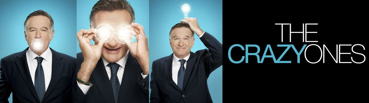 (1. Staffel) - The Crazy Ones: Als Inhaber einer Werbeagentur kann sich Simon Roberts (Robin Williams) jegliche Allüren leisten ... - Bildquelle: 2013 Twentieth Century Fox Film Corporation. All rights reserved.