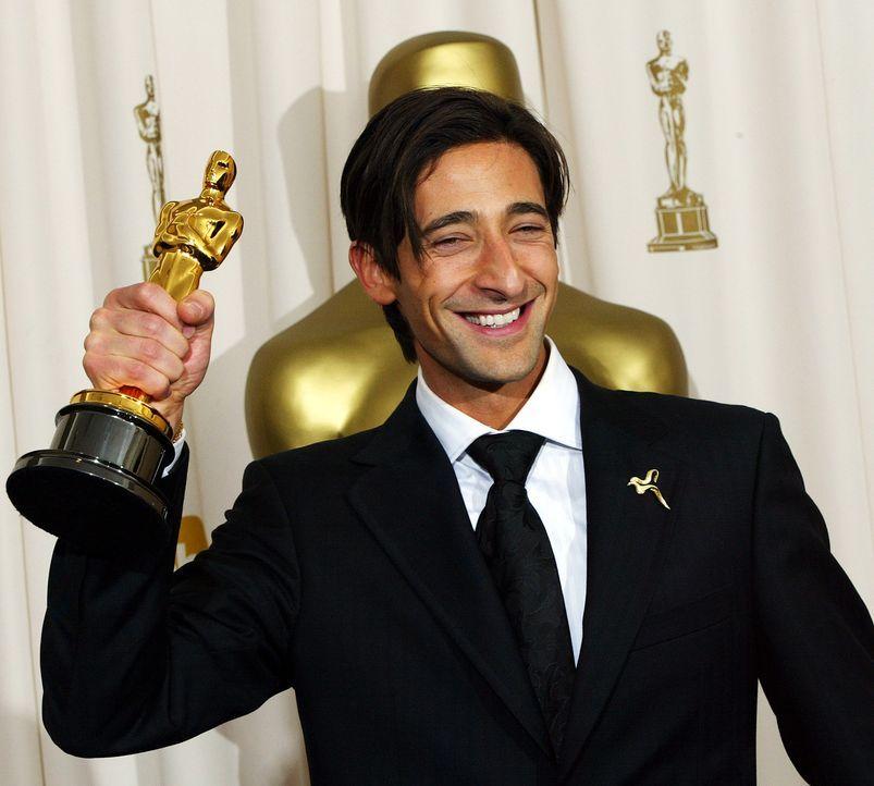 Bester-Hauptdarsteller-2003-Adrien-Brody-AFP - Bildquelle: AFP