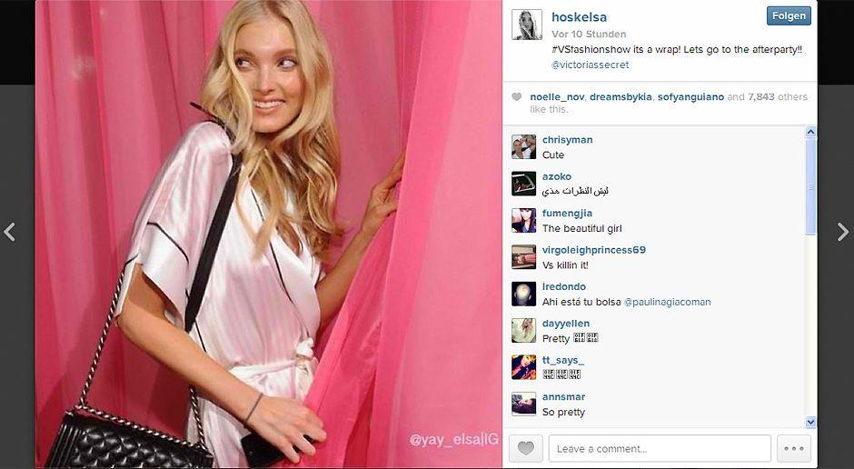 VS-Instagram-09-Instagram - Bildquelle: Instagram/Elsa Hosk