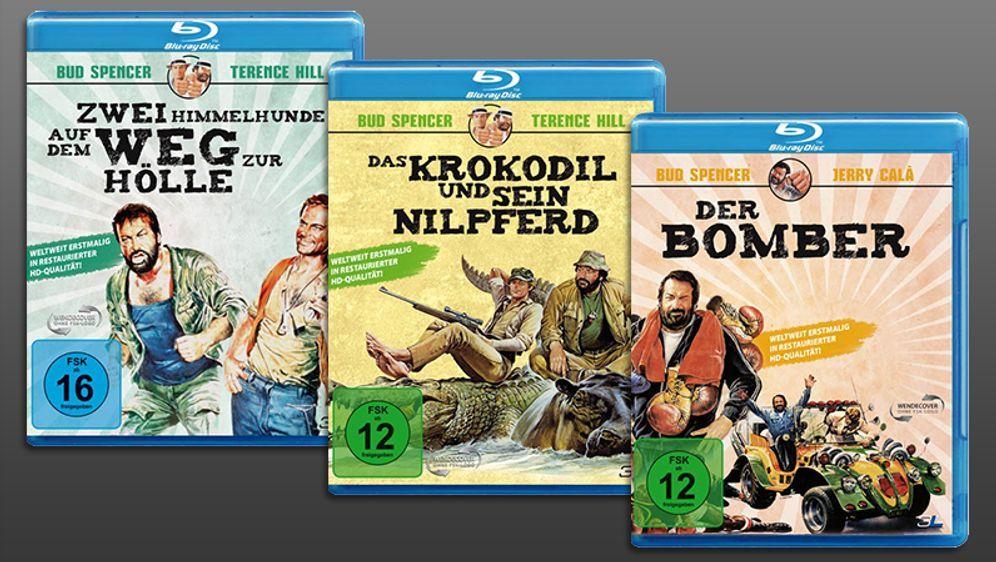 Bud-Terence-3-Filme-Blu-ray - Bildquelle: 3L-Homevideo