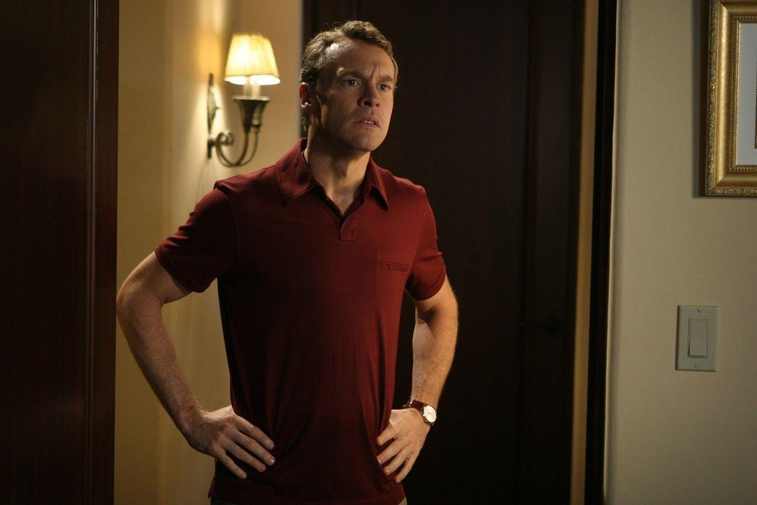 Hofft, dass Marissa und Ryan nicht von der Schule verwiesen werden: Jimmy (Tate Donovan) ... - Bildquelle: Warner Bros. Television