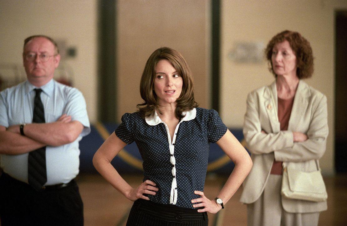 Mathelehrerin Ms. Norbury (Tina Fey, M.) will nur eines: ein friedvolles Miteinander! - Bildquelle: Paramount Pictures