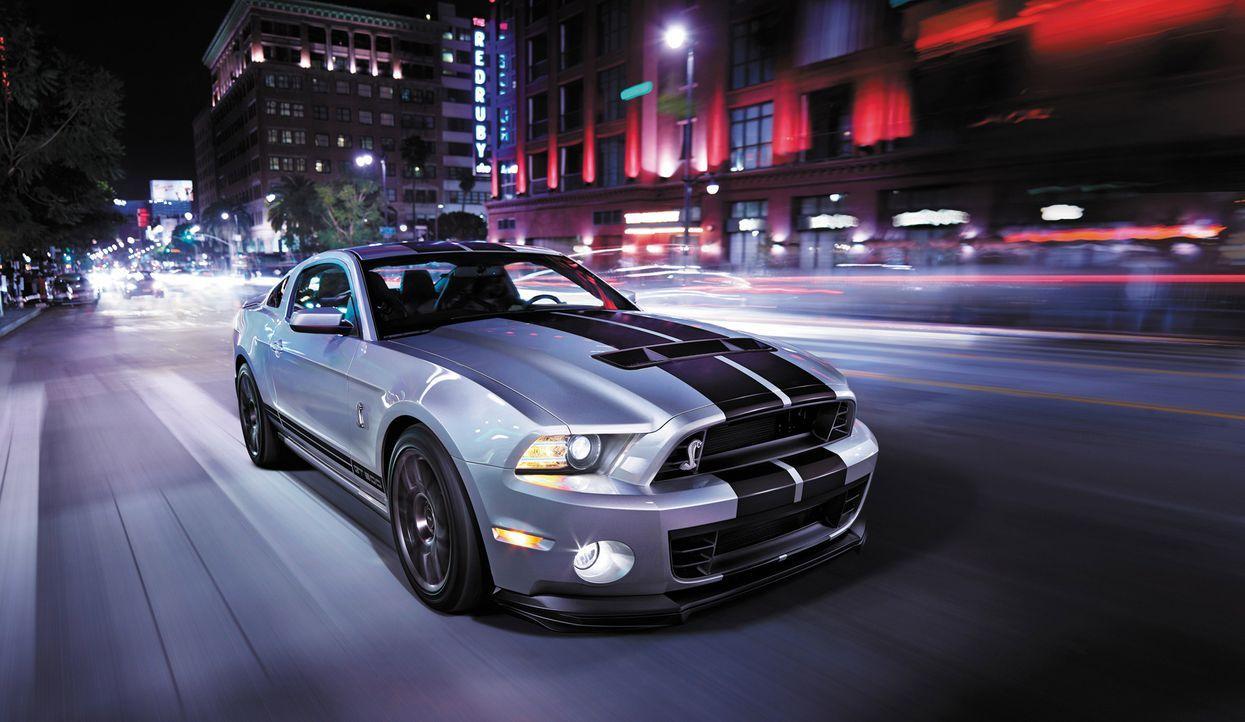 2014er Mustang Shelby GT500 (2) - Bildquelle: © 2013 Ford Motor Company
