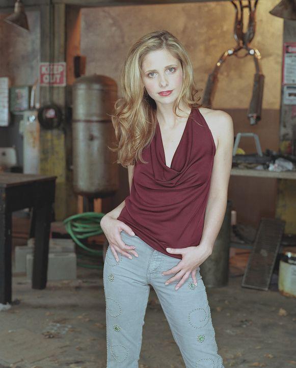 (7. Staffel) – Buffy (Sarah Michelle Gellar) ist die auserwählte Vampirjägerin, um die Welt vor Dämonen zu beschützen … - Bildquelle: TM +   Twentieth Century Fox Film Corporation. All Rights Reserved.