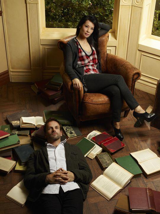 Sherlock und Watson - Bildquelle: CBS Television