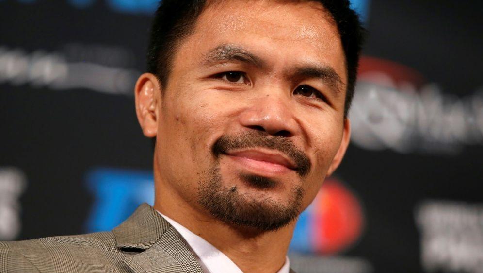 Manny Pacquiao will wieder in den Boxring zurückkehren - Bildquelle: PIXATHLONPIXATHLONSID