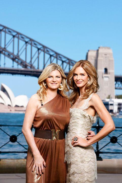 Zwölf Stunden, 20 Frauen und eine Mission: Susannah (l.) und Trinny (r.) wollen aus hässlichen Entlein glamouröse Laufstegmodels machen ... - Bildquelle: XYZ Networks