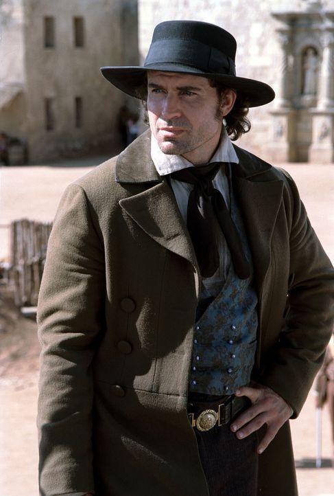 1836 kämpften weniger als 200 Texaner unter der Führung von Davy Crockett und James Bowie (Jason Patric) einen aussichtslosen Kampf gegen eine Überm... - Bildquelle: Disney - ABC International Television