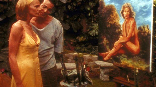 Kunstmaler Aidan (Jon Tenney, 2.v.l.) hat sich in sein Aktmodell Emma (Natash...