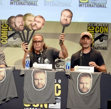 Comic-Con-2015-04-TWD-nicotero-lincoln-getty-AFP - Bildquelle: getty-AFP