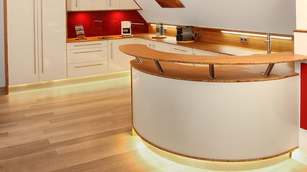 Küchenbeleuchtung: Küche ins rechte Licht rücken - SAT.1 Ratgeber