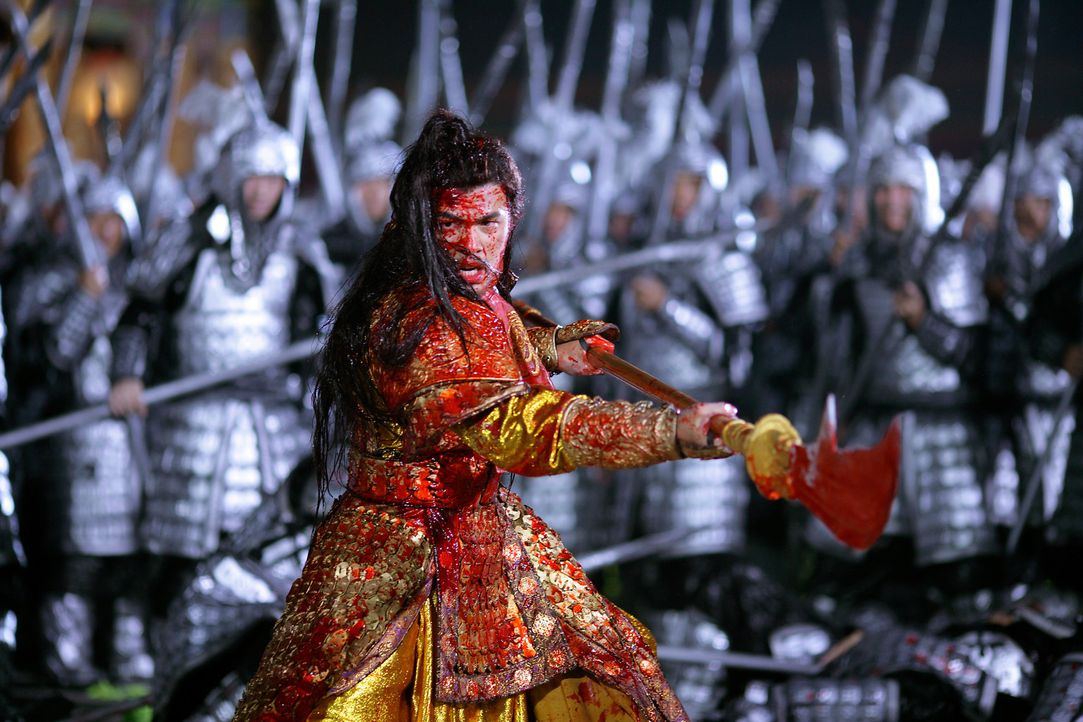 Prinz Jai (Jay Chou) führt einen erbitterten Kampf gegen seinen Vater und erhofft sich so den Platz auf dem Thron … - Bildquelle: TOBIS Film
