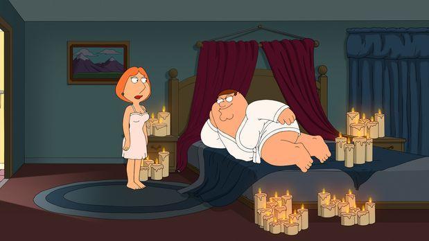 Family Guy - Ein ganz besonderer Valentinstag wartet auf Peter (r.) und Lois...