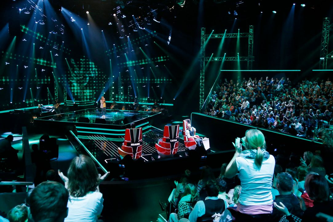 The-Voice-Kids-s04e02-Amely-2-SAT1-Richard-Huebner - Bildquelle: © SAT.1/ Richard Hübner