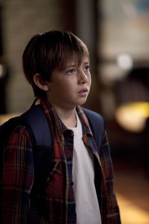 Wusste nicht, dass Cooper adoptiert wurde: Mason (Griffin Gluck) ... - Bildquelle: ABC Studios