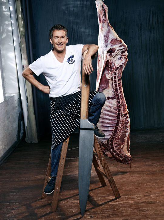 """Der Experte in """"BeefBattle - Duell am Grill"""": Spitzenkoch Shane McMahon ... - Bildquelle: Stephan Pick ProSieben MAXX"""
