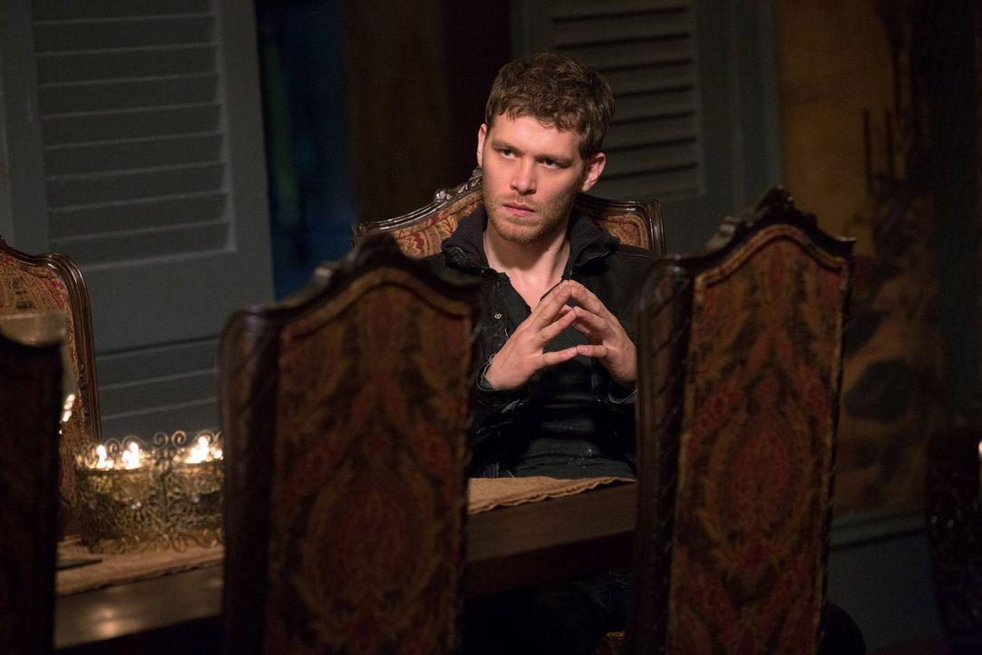 Für Klaus (Joseph Morgan) ist klar, dass er für seine Tochter aus New Orleans einen sicheren Ort machen muss, doch das wird schwerer als vermutet ..... - Bildquelle: Warner Bros. Television
