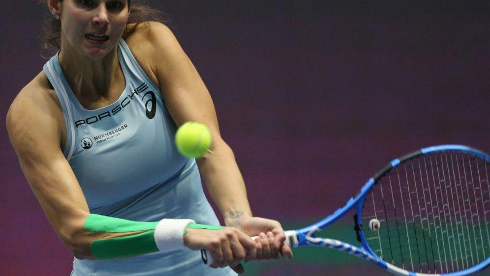 Julia Görges zieht souverän ins Viertelfinale ein - Bildquelle: AFPSIDIgor Russak