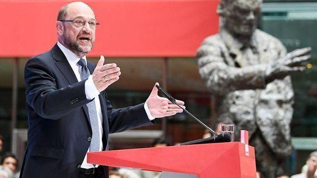 SPD Kanzlerkandidat Schulz präsentiert Zukunftsplan