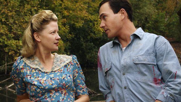Im Süden der USA findet Noah (Chris Klein, r.) bei der Witwe Eleanor (Gretche...