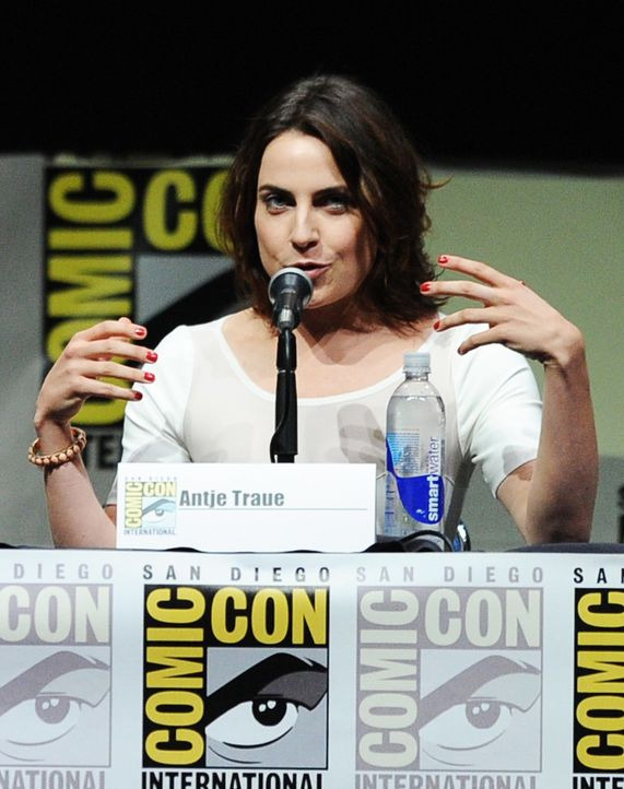 Antje-Traue-130720-getty-AFP - Bildquelle: getty-AFP