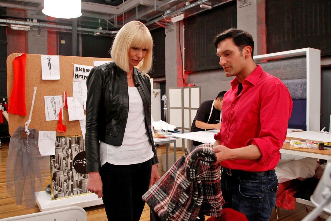 Fashion-Hero-Epi03-Atelier-46-Pro7-Richard-Huebner - Bildquelle: Richard Hübner / Pro 7