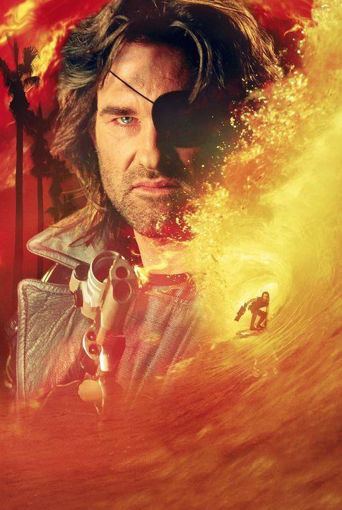 Snake Plissken (Kurt Russell) muss mal wieder die Kastanien aus dem Feuer holen ... - Bildquelle: Paramount Pictures