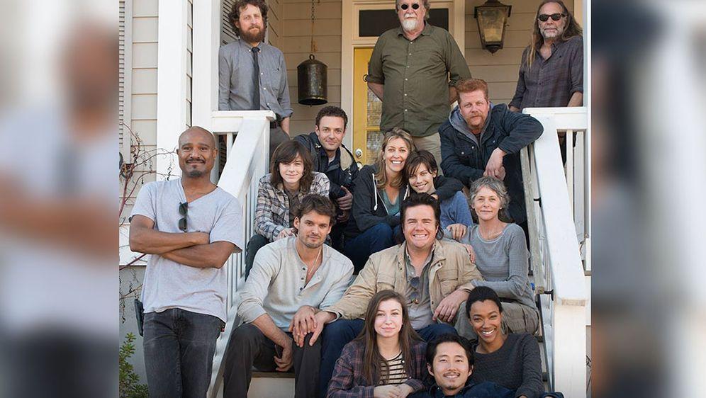 The Walking Dead Staffel 6 Macher Wollten Nicht Mit Publikum