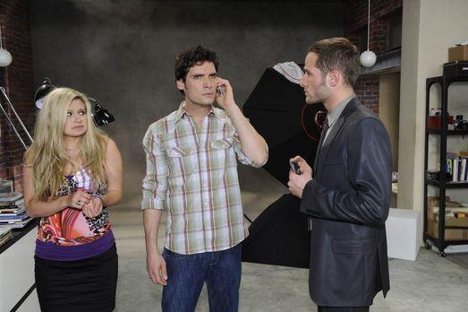 Anna und die Liebe - Mia (Josephine Schmidt, l.) und Alexander (Paul Grasshof...