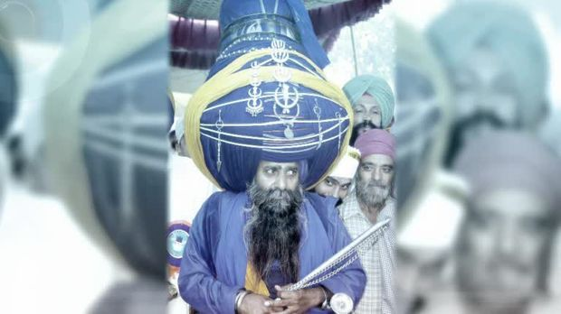Bild Geschichte - der größte turban