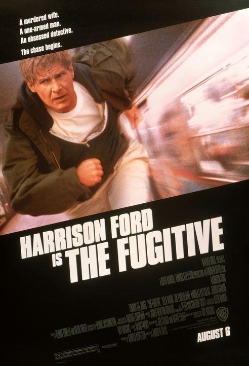Auf der Flucht - Plakatmotiv - Bildquelle: Warner Brothers International Television Distribution Inc.