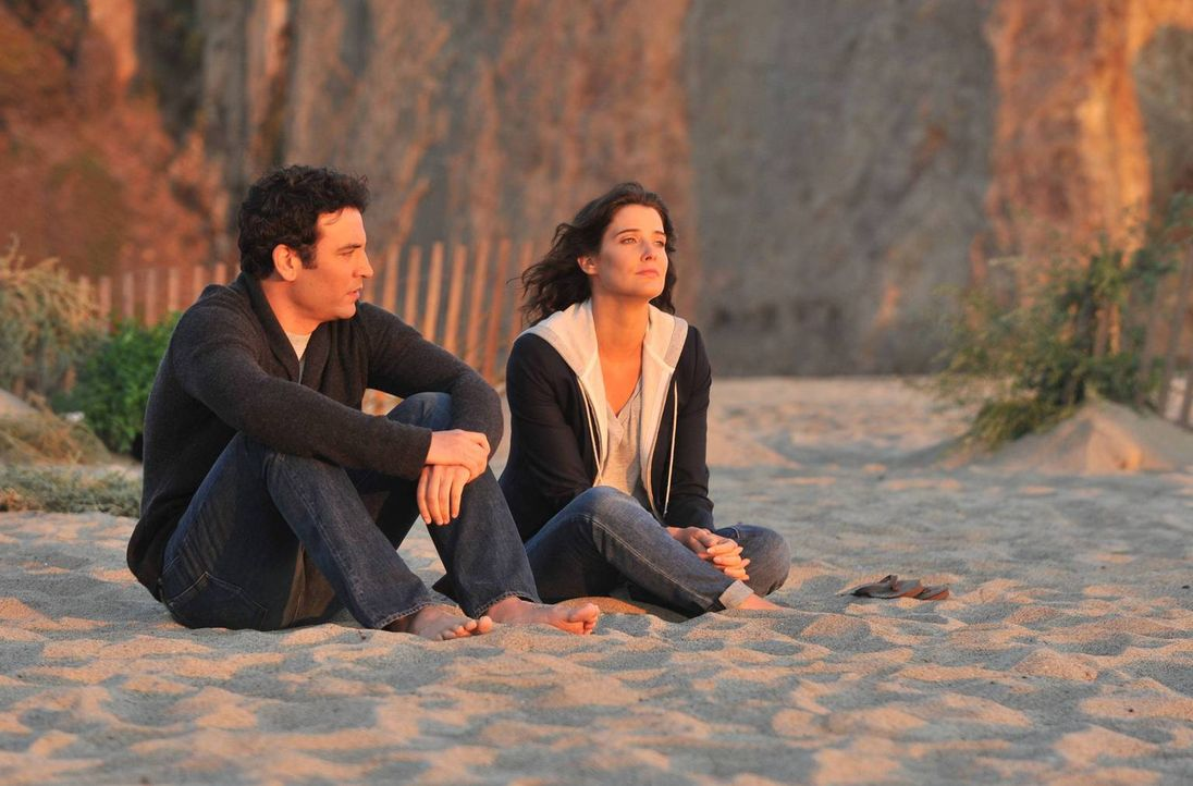 Ted (Josh Radnor, l.) beichtet Robin (Cobie Smulders), ihretwegen mit Victoria Schluss gemacht zu haben ... - Bildquelle: 2014 Twentieth Century Fox Film Corporation. All rights reserved.