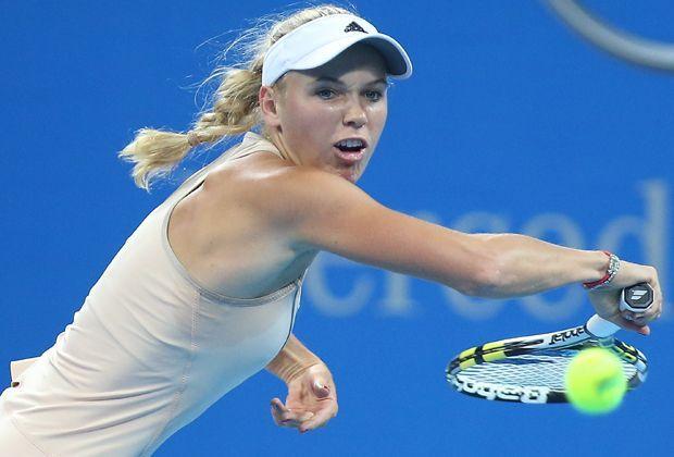 Bis ins Finale: Caroline Wozniacki - Bildquelle: getty