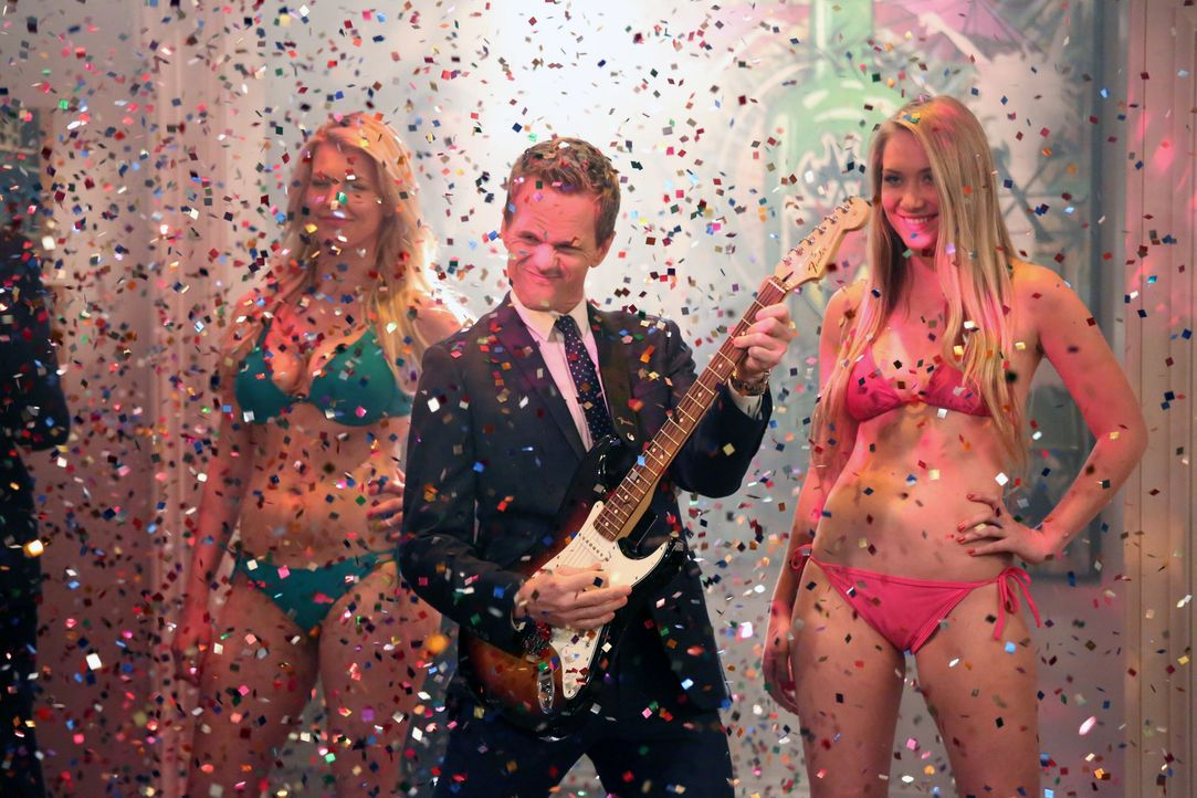 Barney (Neil Patrick Harris, M.) hat seine ganz eigene Geschichte zum letzten Treffen mit dem Captain ... - Bildquelle: 2013 Twentieth Century Fox Film Corporation. All rights reserved.