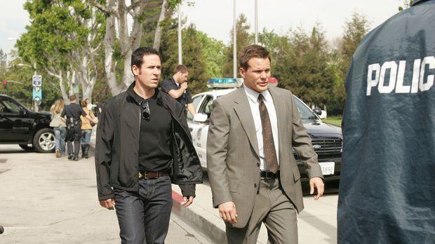 Auf der Suche nach dem skrupellosen Briefbombenmörder: Don (Rob Morrow, l.) u...