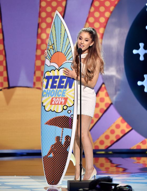 Teen-Choice-Awards-Ariana-Grande-140810-getty-AFP - Bildquelle: getty-AFP