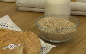 """""""Küchenkönigin""""-Moderator Mike Süsser zeigt uns, wie wertvoll Sesam..."""