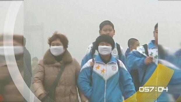100 Sekunden - eXtrem Smog in China