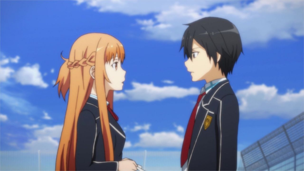 Asuna (l.); Kirito (r.) - Bildquelle: REKI KAWAHARA/PUBLISHED BY KADOKAWA CORPORATION ASCII MEDIA WORKS/SAO II Project