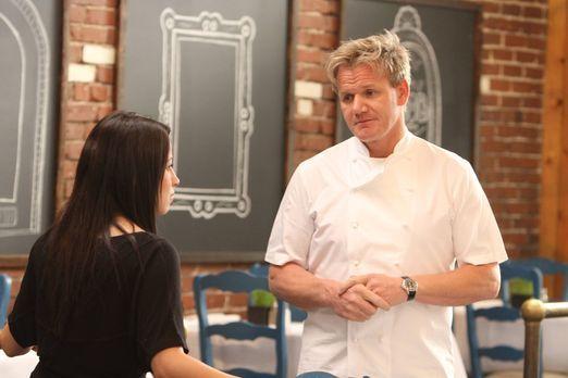 "Heute ist Gordon Ramsay (r.)im mediterranen Restaurant ""Sam's Kabob Room..."