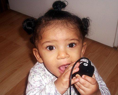 Janines Tochter Naomi-Fathima - Bildquelle: Sat1
