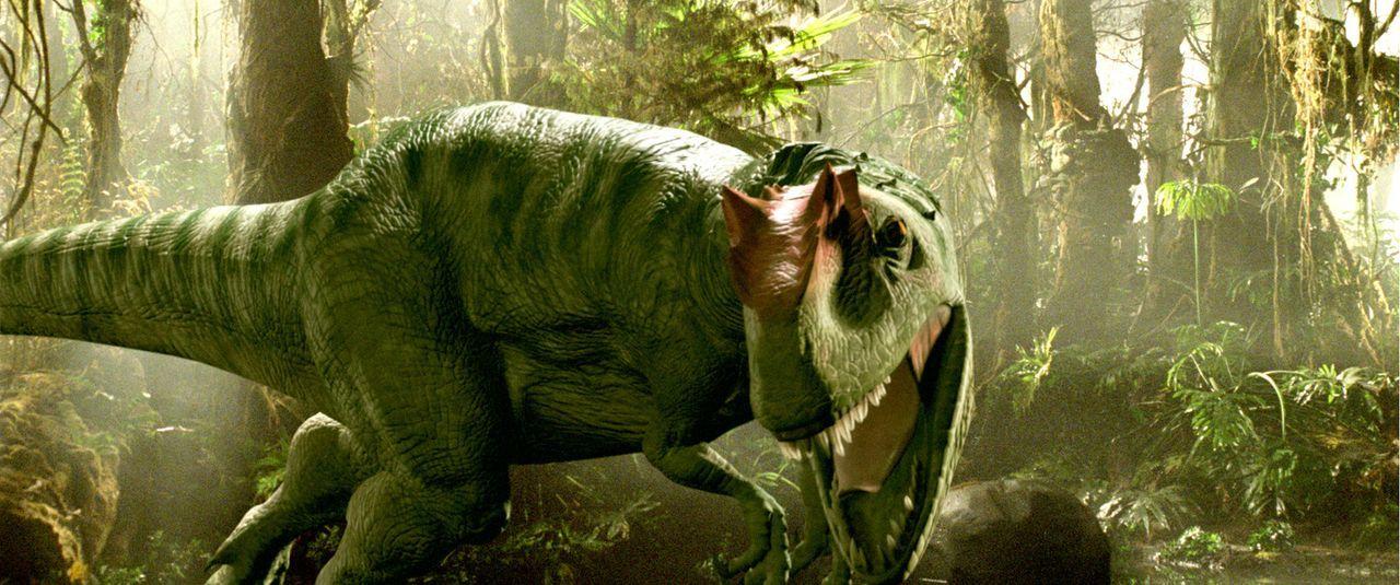 """2055: Für reiche Abenteurer bietet die Firma """"Time Safari Inc."""" einen ganz besonderen Nervenkitzel: prähistorische Dinosaurier-Jagden. Damit jedoch... - Bildquelle: ApolloMedia"""