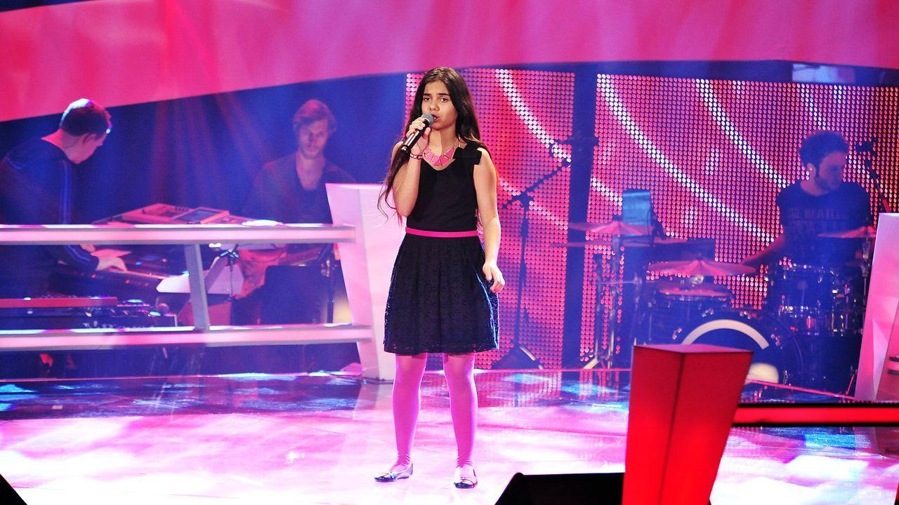 The-Voice-Kids-Stf02-Epi05-Melissa-3-SAT1-Andre-Kowalski - Bildquelle: SAT.1/Andre Kowalski