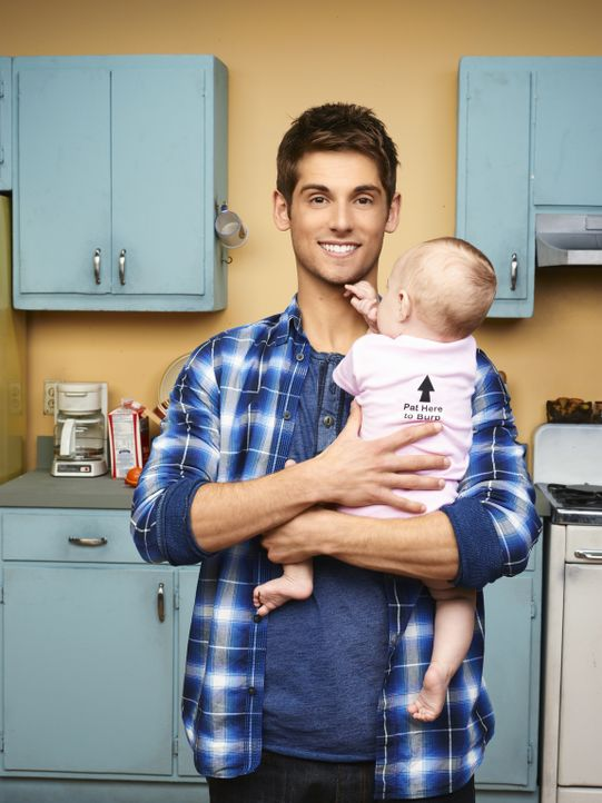 (1. Staffel) - Eines Tages findet Ben (Jean-Luc Bilodeau) ein Baby vor seiner Tür und er erfährt, dass er Vater geworden ist. Trotz vorprogrammierte... - Bildquelle: Andrew Eccles ABC Family