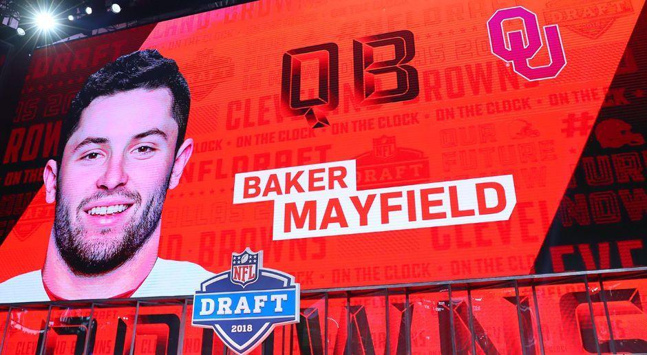 1. Cleveland Browns: QB Baker Mayfield  - Bildquelle: imago/Icon SMI